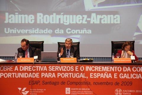 Imaxes terceira parte - Foros sobre a directiva servizos e o incremento da competitividade: Unha oportunidade para Portugal, España é  Galicia